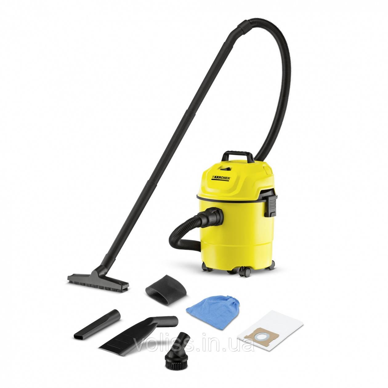 Пылесос для сухой уборки KARCHER WD1 CAR