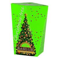 Чай зеленый Basilur коллекция Рождественская ёлка Зеленая ёлка 85г