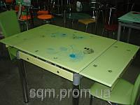Стеклянный обеденный стол В-1
