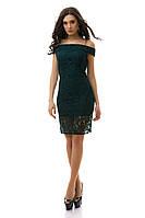 Женское гипюровое платье - IK3012