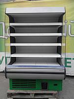Холодильная горка Модена Росс б у, регал холодильный б у, фото 1