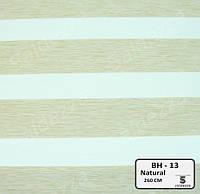 Рулонные шторы День-Ночь ЕКО (открытого типа)  - BH-13