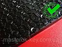 Полиуретан листовой набоечный BISSELL-WINTER (Италия), р. 200*200*6мм, цв. черный