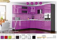 Гамма кухня Мебель-Сервис угловая 3500*2400 мм