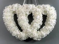 Украшение для свадьбы Два сердца