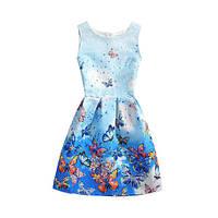 Летнее платье Monica с бабочками СС7102