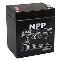 Свинцово-кислотный аккумулятор NP12-4.5 (NPP)