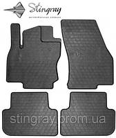 Комплект резиновых ковриков Stingray для автомобиля  Volkswagen Tiguan 2016-.    4шт.