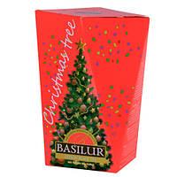 Чай черный Basilur коллекция Рождественская ёлка Красная ёлка 85г