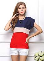 Женская стильная футболка  Puzzle  7071