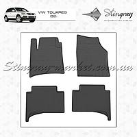 Комплект резиновых ковриков Stingray для автомобиля  Volkswagen Touareg 2002-2010    4шт.