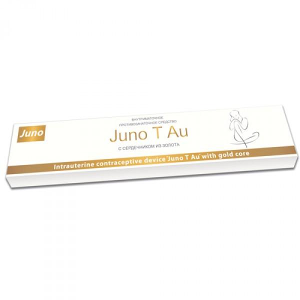 Внутриматочная спираль Симург Юнона «Juno Т Au» с золотым сердечником (Беларусь)