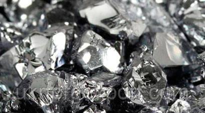Хром металевий, необроблений, вміст Cr-99,5%; подрібнений в шматках 2-50мм