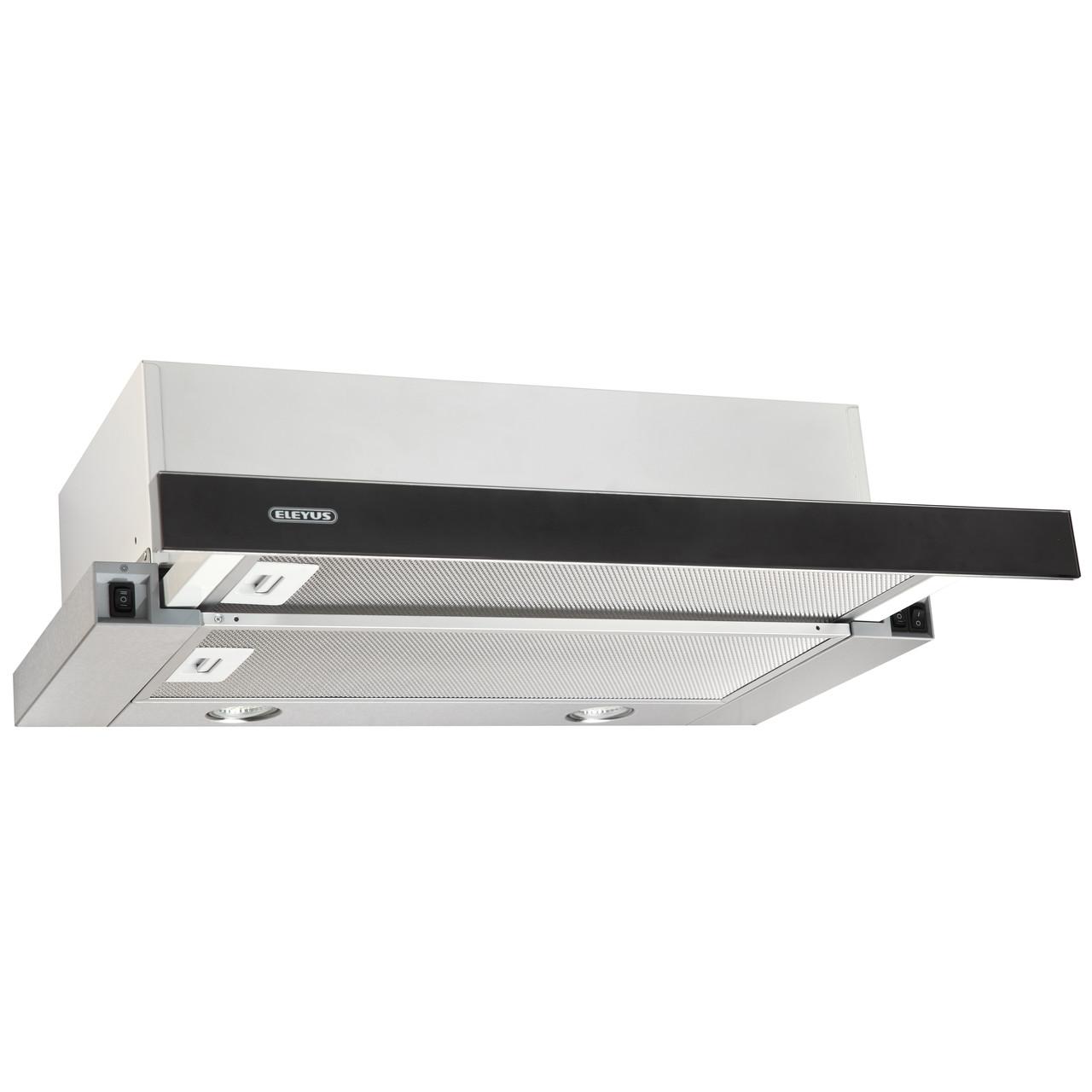 Витяжка кухонна ELEYUS Storm G 700 LED SMD 60 IS+BL