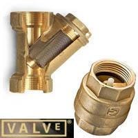 Обратный клапан и фильтр грубой очистки VALVE