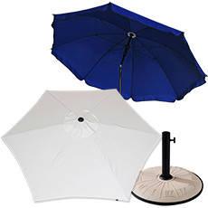 Садовые, пляжные зонты и подставки к ним