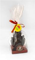 Цыпленок пасхальный из черного шоколада в брендированной упаковке, фото 1