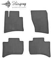 Комплект резиновых ковриков Stingray для автомобиля  Volkswagen Touareg 2010-    4шт.