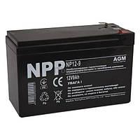 Свинцево-кислотний акумулятор NP12-9 (NPP)