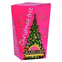 Чай черный Basilur коллекция Рождественская ёлка Фиолетовая ёлка 85г