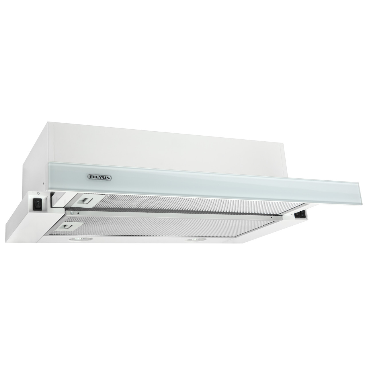 Витяжка кухонна телескопічна ELEYUS Storm G 960 LED SMD 60 WH + Безкоштовна доставка!