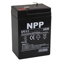 Свинцово-кислотный аккумулятор NP6-4.5 (NPP)