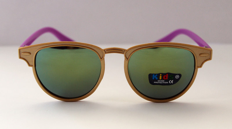 Детские солнцезащитные очки-авиаторы разные цвета