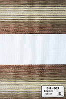 Рулонные шторы День-Ночь ЕКО (открытого типа)  - BH-603