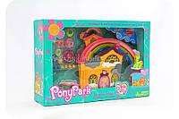 Игровой набор «Пони-парк» 4 пони в комплекте