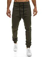 Мужские брюки Athletic зеленого цвета