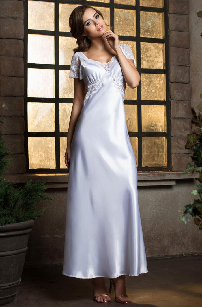 Длинная сорочка. Италия. Mia Mia 17258 Lady in white
