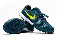 Сороконожки Nike MagistaX Finale II TF Midnight Turqouise/Volt/Hasta/Gum Light Brown, фото 1