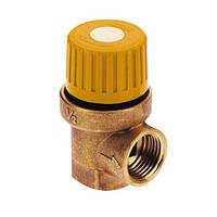 """Предохранительный клапан для гелиосистемы 1/2 х 3/4 вв (6 бар) """"Icma"""" №S121"""