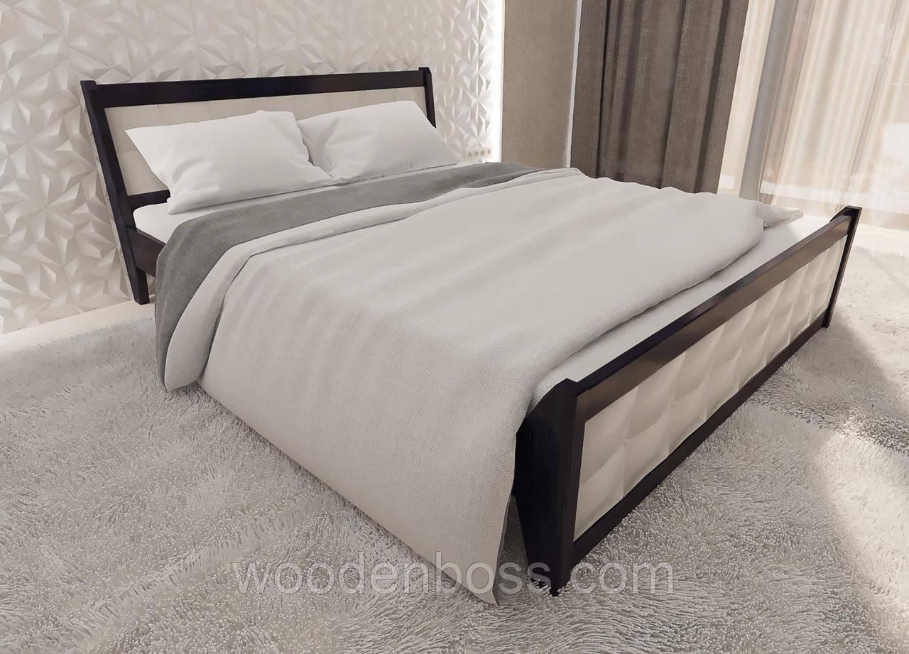 """Кровать полуторная от """"Wooden Boss"""" Глория (спальное место 120*190/200)"""