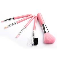 Набор кисточек для макияжа 5 шт., фото 1