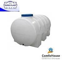 Пластиковая емкость для перевозки 5000 л горизонтальная, однослойная ПБ 5000
