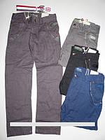 Котоновые брюки для мальчиков Mr.David. В комплекте с ремнем.