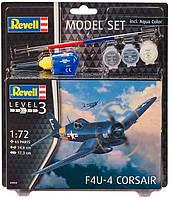 Model Set Самолет Літак F4U-4 Corsair, 1:72, Revell