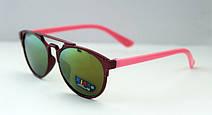 Разноцветные солнцезащитные очки-авиаторы для детей, фото 2