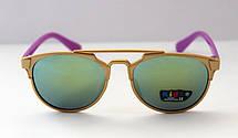 Разноцветные солнцезащитные очки-авиаторы для детей, фото 3