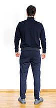 Мужской спортивный костюм Adidas синий Турция реплика, фото 3