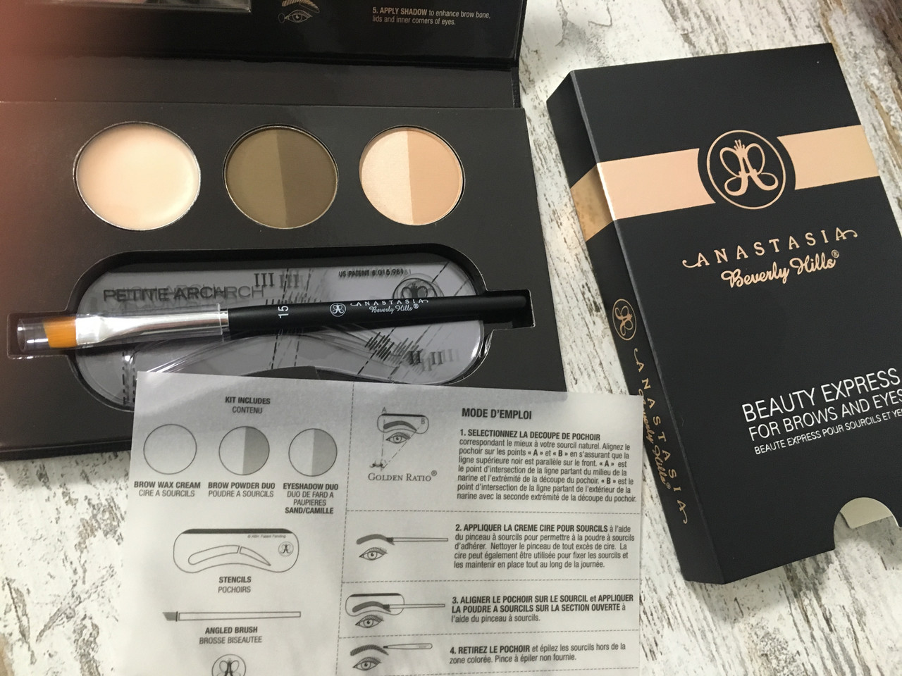 Набор для бровей ANASTASIA BEVERLY HILLS Beauty Express