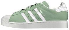 Женские кроссовки Adidas Superstar Green