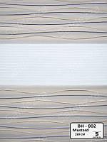 Рулонные шторы День-Ночь ЕКО (открытого типа)  - BH-802