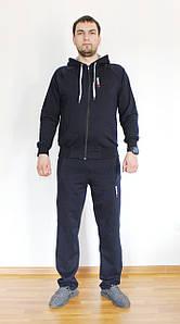 Мужской спортивный костюм Reebok синий Турция реплика