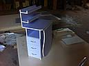 Стол для маникюра с полочками, фото 2