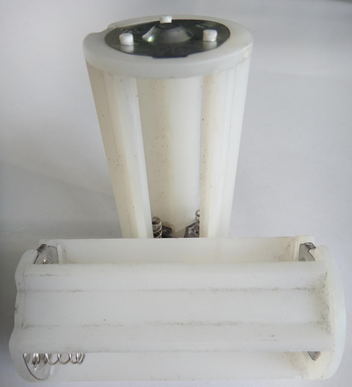 Касета D20, R20, LR20 на 1-3 аккумулятора 1.2v adapter d