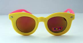 Детские разноцветные солнцезащитные очки в овальной оправе, фото 2