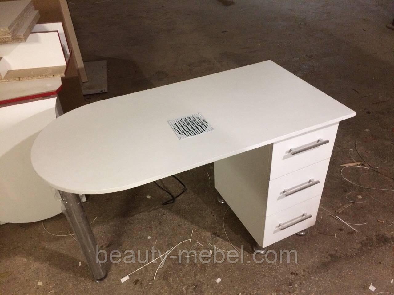Маникюрный стол  с вытяжкой 30Вт