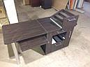 Складной маникюрный стол с выдвижными ящиками для лаков, фото 3